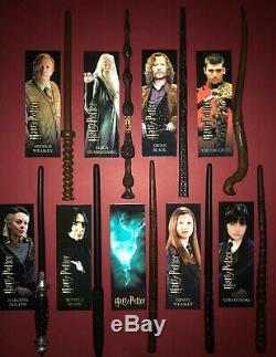 Complete 9 Baguette Set Nouveau 2019 Série 2 Harry Potter Mystery Wands