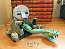 Complète À 100% 4730 Lego Harry Potter Chambre Des Secrets / Basilisk, Fawkes Rare