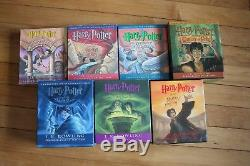 Complete Harry Potter De J. K. Rowling Livre Audio Lot CD Set Nouveau