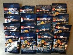 Dans La Main Lego Harry Potter 71028 Série 2 Minifigures Jeu Complet De 16 Scellé