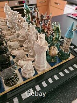 Deagostini Magazine Harry Potter Chess Ensemble Complet Deux Ensembles