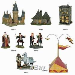 Département 56 Harry Potter Village 2018 Complete Set Plus Figures 4061746