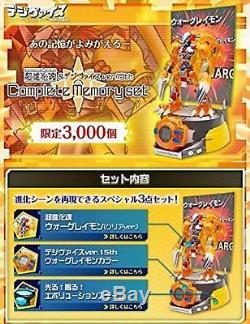 Digimon Adventure Digivolving Spirits & Digivice Ver15th Kit De Mémoire Complète F / S