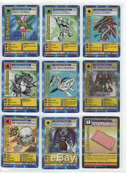 Digimon Jeu De Cartes Digi-battle French Booster, Série 3, Série Complète Presque Nm +