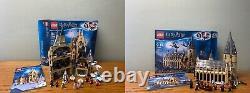 Énorme Harry Potter Lego Lot. Ensembles Complets Avec Boîte + Extras. Beaucoup Rare. Plus De 80 Minifig