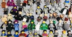 Énorme Lego Harry Potter 125 Minifigurines Lot Ensemble Complet Bellatrix Ombrage Luna
