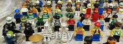 Énorme Lot De 140 Figurines Lego 100% Authentiques Et Complètes