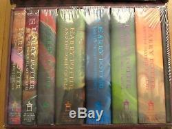 Ensemble Complet 1-7 Livres De Harry Potter Dans Trunk J. K. Rowling Nouveau Scellé