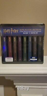 Ensemble Complet Blu Ray Et Numérique Harry Potter Scellé Best Buy Steelbook