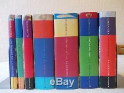 Ensemble Complet Complet Édition Originale Harry Potter, Jaquettes Cartonnées Rowling