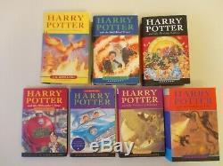 Ensemble Complet Complet Harry Potter Livres De La Poussière Avec De J K Rowling