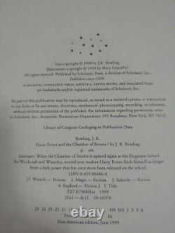 Ensemble Complet De 8 Livres Harry Potter Hardcover American First Edition Lot