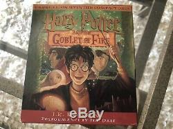 Ensemble Complet De CD Audio Harry Potter Livres 1 7 Jk Rowling & Jim Dale
