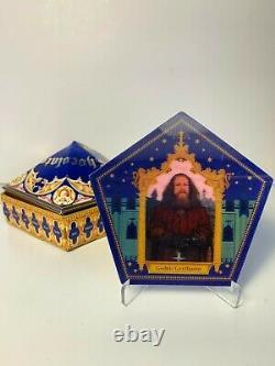Ensemble Complet De Cartes Rare De Grenouille De Chocolat D'exposition De Harry Potter