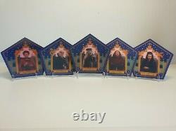 Ensemble Complet De Cartes Rare Harry Potter Exhibition Chocolate Frog