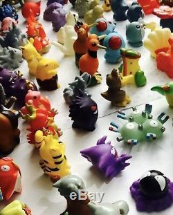 Ensemble Complet De Figurines Pokemon Bandai De La 1ère Génération Des Années 90, Ensemble Complet