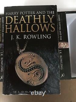 Ensemble Complet De Livres Papier Pour Adultes De La Collection Harry Potter (2008)