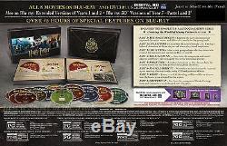 Ensemble Complet Harry Potter Bluray + DVD De La Série Poudlard Edition Collectionneurs Harry Potter