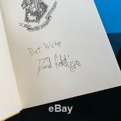 Ensemble De Livre Complet Harry Potter Signé Par Daniel Radcliffe Royaume-uni Jk Rowling