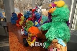 Ensemble Ensemble De Sesame Strele Complet En Peluche- À Collectionner- Elmo Abby Cookie- Nouveau