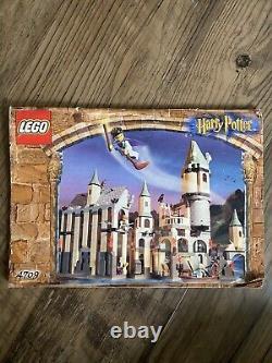Ensemble Lego Complet 4709 Harry Potter Poudlard Château Sorcerer's Stone Dumbledore