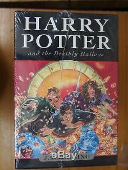 Etanche Harry Potter Complete Uk Bloomsbury Hardback Originale Du Livre Coffret