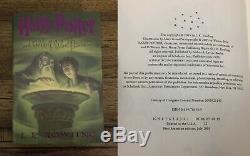 Exrare Harry Potter Complete Series Collection Toutes True 1ère Impression Édition Américaine