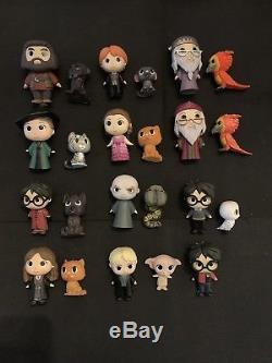 Funko Mystère Mini Harry Potter Série 1 Ensemble Complet Exclusifs Yule Floqué