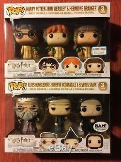 Funko Pop Harry Potter 1-64 Complet, Avec Tours, Packs 2 Et 3 Listés Tout Inclus