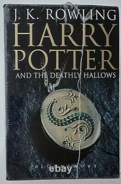Harry Potter 1-7 Complet Hard Cover Adult Uk Book Set Bloomsbury New Sealed