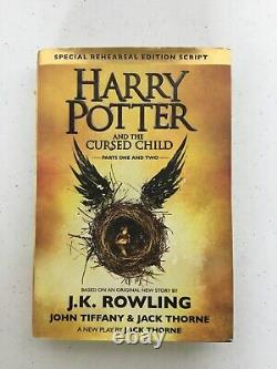 Harry Potter 1-7 Complete Series Par Jk Rowling Hardcover Set +bonus Cursed Child