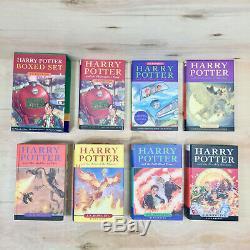 Harry Potter 1-7 Complete Set Relié Livres. Raincoast Boxset & Bloomsbury
