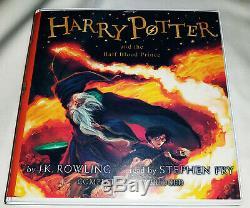 Harry Potter 1 À 7 Set Complet. Read By Steven Fry. Dernière Version. 103 De CD