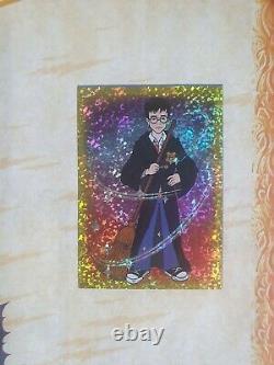 Harry Potter 100% Tcg Panini Sticker Album Complet 2001
