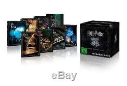Harry Potter 4k Steelbook Collection Complète Bluray Edition Limitée À La Main