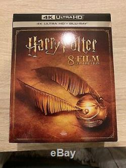 Harry Potter 8 Complete Collection De Films 4k Ultra Hd Uhd + Blu-ray Coffret Nouveau