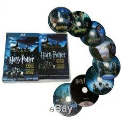 Harry Potter 8-film Collection Série Complète (blu-ray Dvd, 2011, 8 Set-disc)