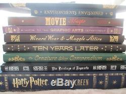 Harry Potter À L'écran La Page Complète Filmmaking Voyage De Luxe Avec Art Prints