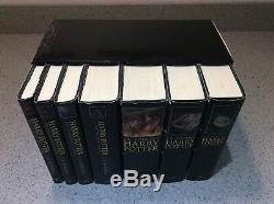 Harry Potter Adult Livre À Couverture Rigide Complet Boxed Set Jk Rowling 2007 Epuise
