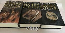 Harry Potter Adulte Hardcover Terminé Boxset 2007, Disque Dur, Comme Neuf État