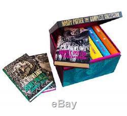 Harry Potter Adulte Livre Relié Coffret, 2015, The Complete Collection, Tous Les 7 Romans