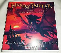 Harry Potter Audiobooks Complete Collection 1-7 Unabridged. Steven Fry. 103 CD