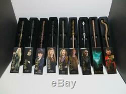 Harry Potter Baguette Mystère Ensemble Complet De (9) Série # 2 Plus Plus A Voir Absolument