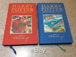 Harry Potter Bloomsbury Ensemble De Livres Relié À Reliure Deluxe Gold Signature