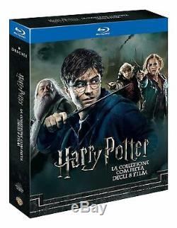 Harry Potter Blu-ray-set Complete Collection / Komplettbox 1 + 2 + 3 + 4 + 5 + 6 + 7.1 + 7.2