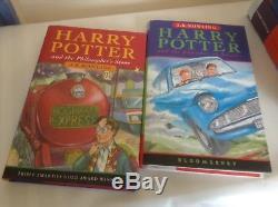 Harry Potter Boîte Complète 1ère Edition Coffret Livre Coffret Coffret Étui Bloomsbury