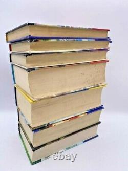 Harry Potter Book Set Bloomsbury All Hardback Uk First Edition Complete 1-7