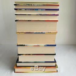 Harry Potter Book Set Bloomsbury Cartonnés Uk Complete First Edition 1-7 + Extras