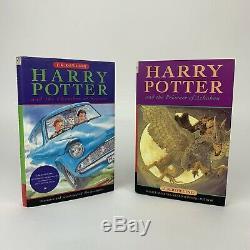 Harry Potter Book Set Bloomsbury Cartonnés Uk Complete First Edition 1-7 J. K. R