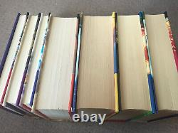 Harry Potter Book Set Bloomsbury Hardback Uk First Edition Complete 1-7 Early